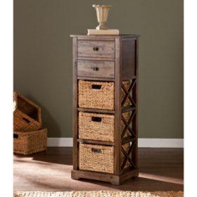 Timmons Storage Shelf with 3 Baskets