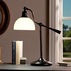 OttLite Faulkner Task Table Lamp