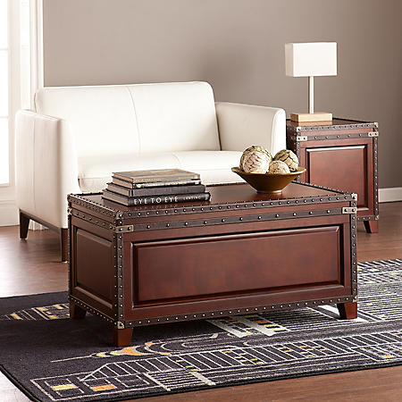 Connor Trunk Cocktail Table