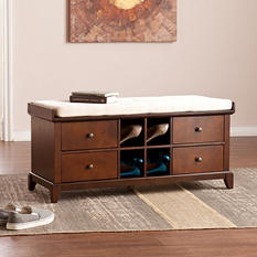 Campbell Shoe Storage Bench