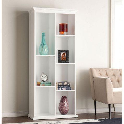 Morton Tall Bookcase, White