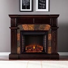 Bashard Electric Fireplace - Classic Espresso