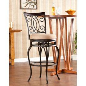 Fine Novali Swivel 30 Bar Stool Sams Club Pabps2019 Chair Design Images Pabps2019Com