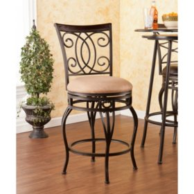 Novali Swivel 25 Counter Height Stool Sams Club