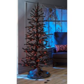 Member's Mark 7 ft. Halloween Moving Tinsel Tree