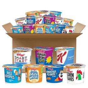 Kellogg's Classic Cereal in a Cup Assortment Pack (60 ct.)