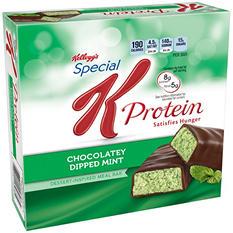 Kellogg's Special K Protein Chocolatey Dipped Mint Meal Bar (1.59 oz., 8 pk.)