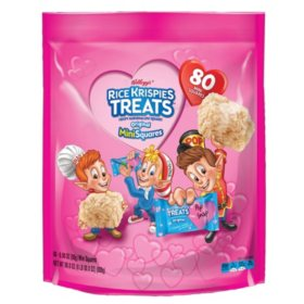 Kellogg's Rice Krispies Treats Valentine's Addition Mini-Squares (80 ct.)