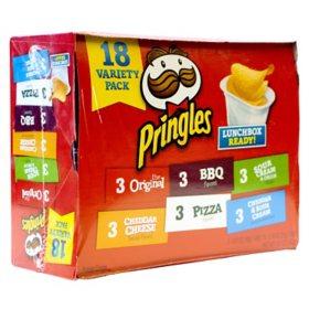 Pringles Variety Pack 18ct.