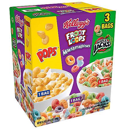 Kellogg's Kids Variety Pack (37.3 oz.)