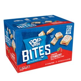 Pop-Tarts Bites, Frosted Strawberry (28.2 oz., 20 ct.)