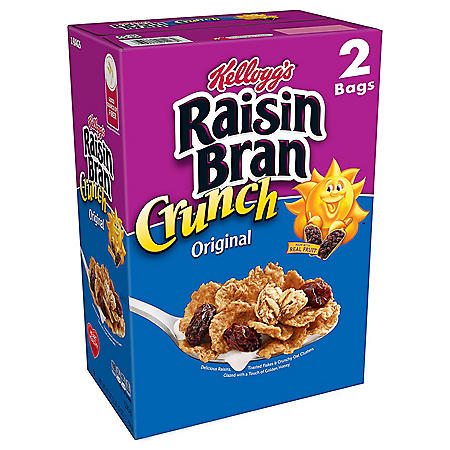 Kellogg's Original Raisin Bran Crunch Breakfast Cereal (42 oz.)