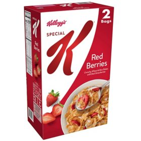 Kellogg's Special K Breakfast Cereal, Red Berries (38 oz.)