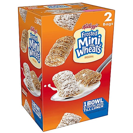 Kellogg's Frosted Mini Wheats (55 oz.)