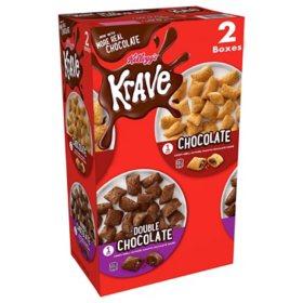 Kellogg's Krave, Variety Pack (34 oz.)