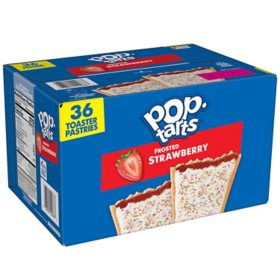 Kellogg's Pop-Tarts, Frosted Strawberry (36 ct.)