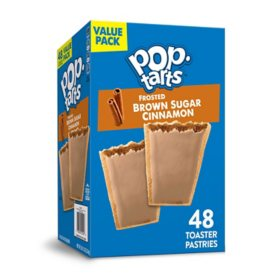 Pop-Tarts, Frosted Brown Sugar Cinnamon (48 ct.)