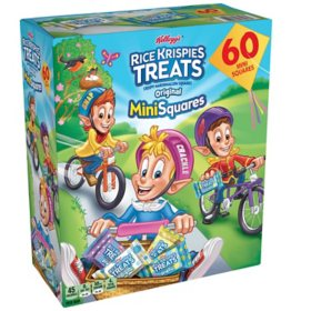 Kellogg's Rice Krispies Treats Spring Mini-Squares (60 ct.)