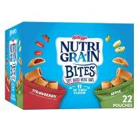 Kellogg's Nutri-Grain Kids Mini Breakfast Bars, Variety Pack (28.6 oz., 22 ct.)