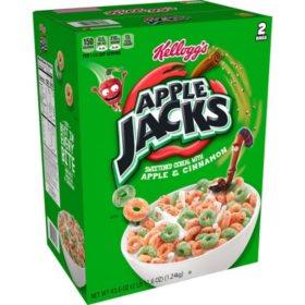 Kellogg's Apple Jacks Breakfast Cereal (43.6 oz.)