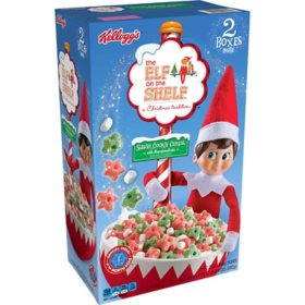 Kellogg's The Elf on the Shelf Breakfast Cereal (24.4 oz., 2 pk.)