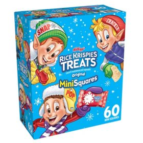 Kellogg's Rice Krispies Treats Winter Mini-Squares (60 ct.)