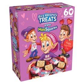 Kellogg's Rice Krispies Treats Valentine Mini-Squares (60 ct.)