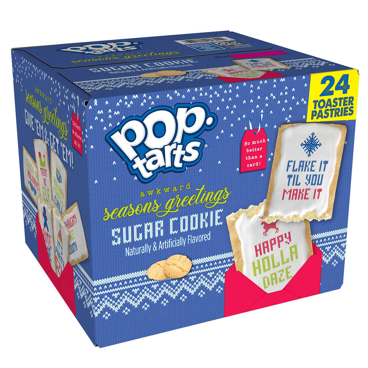 24-Count Kellogg's Pop-Tarts Limited Edition Sugar Cookie