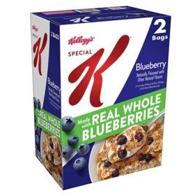 Kellogg's Special K Breakfast Cereal, Blueberry (2 pk.)