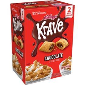 Krave Chocolate Breakfast Cereal (34.6 oz.)