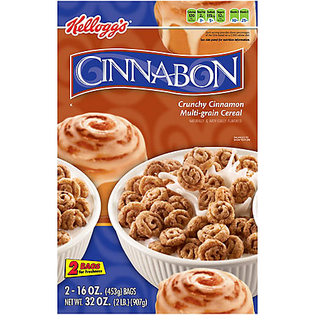 Kellogg's Cinnabon Cereal - 32 oz.