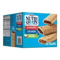 Kellogg's Nutri-Grain Bars Variety Pack (1.3 oz. bar, 36 ct.)