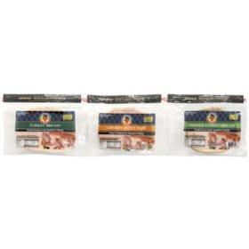 El Serranito Club Sandwich Variety Pack (1 lb. each)