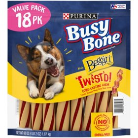 Purina Busy With Beggin' Twist'd Small/Medium Breed Dog Treats (18 ct.)