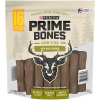 Purina Prime Bones Chew Stick with Wild Venison (16 chews)