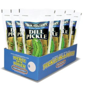 Van Holten's Pickle-In-A-Pouch Jumbo Dill - 12ct