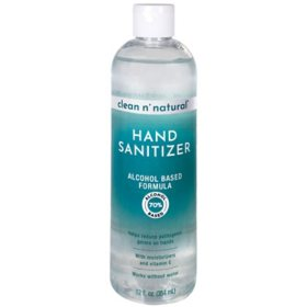 Clean n' Natural Hand Sanitizer (12 oz.)