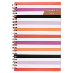 """AT-A-GLANCE Parasol Weekly/Monthly Planner, 4 7/8"""" x 8"""", Assorted"""
