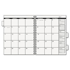 "AT-A-GLANCE Three/Five-Year Monthly Planner Refill, 9"" x 11"", White, 2018"