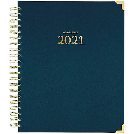 AT-A-GLANCE Harmony 13-Month Weekly/Monthly Planner 2021