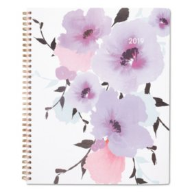Cambridge® Mina Weekly/Monthly Planner, 8 1/2 x 11, 2019