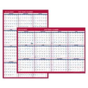 AT-A-GLANCE Vertical/Horizontal Wall Calendar, 24 x 36, 2020