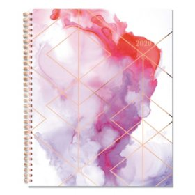 "Cambridge Smoke Screen Weekly/Monthly Planner, 11"" x 9"", 2020"