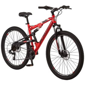 Schwinn Ider Dual Suspension Mountain Bike, 21-speeds