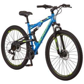 Schwinn Ider Dual Suspension Mountain Bike, 21-speeds