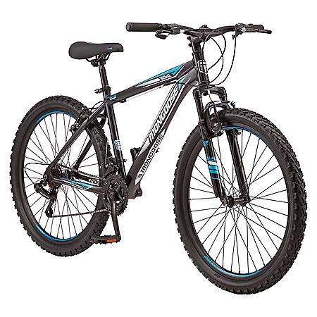 "Mongoose Split Rock Mountain Men's Bike - 21 speeds, 26"" wheels"