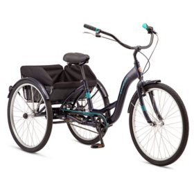 Schwinn Meridian Adult Tricycle, Single Speed (Choose your color)