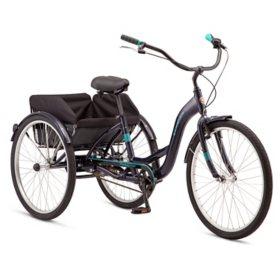 Schwinn Meridian Adult Tricycle, Single Speed (Choose your color)