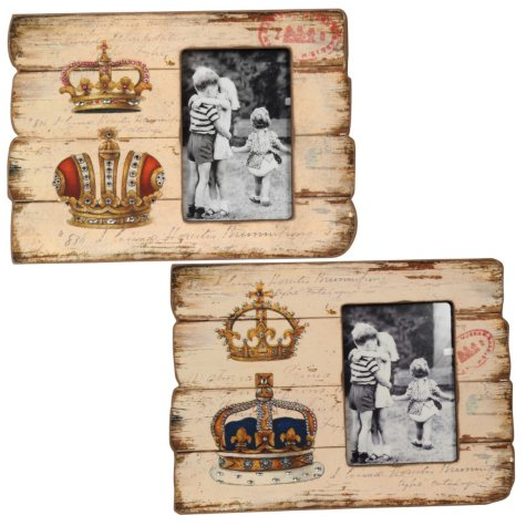 """Crowns"" Picture Frames - 2 pk."