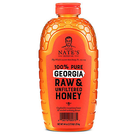 Nature Nate's 100% Pure Raw and Unfiltered Honey, Georgia Blend (44 oz.)